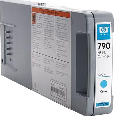 Картридж HP 790 (CB272A) - общий вид
