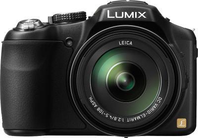 Компактный фотоаппарат Panasonic Lumix DMC-FZ200EEK - вид спереди