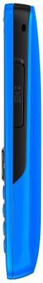 Мобильный телефон Nokia 112 Cyan - боковая панель