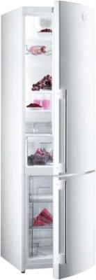 Холодильник с морозильником Gorenje RKV6500SYW2 - общий вид