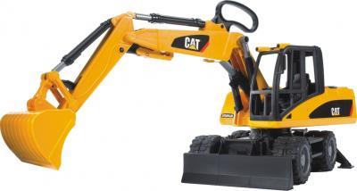 Функциональная игрушка Bruder Экскаватор колесный CAT Mobilbagger 1:16 (02445) - общий вид