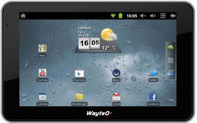 GPS навигатор Wayteq xTAB-50 - общий вид