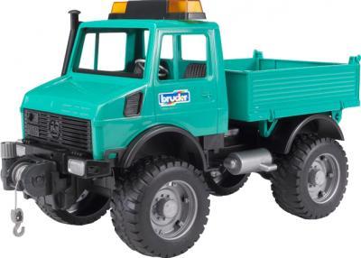 Функциональная игрушка Bruder Самосвал MB-Unimog 1:16 (02471) - общий вид