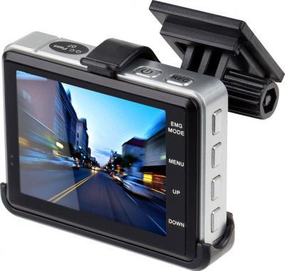 Автомобильный видеорегистратор SeeMax DVR RG200 - дисплей (с креплением)