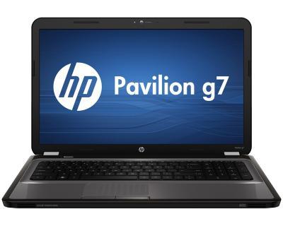 Ноутбук HP Pavilion g7-1315er (B3S71EA) - фронтальный вид