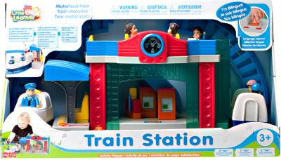 Железная дорога детская Hap-p-Kid Железнодорожная станция 3966Т - общий вид