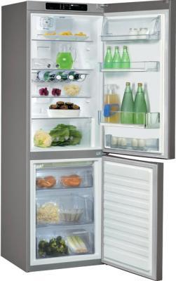 Холодильник с морозильником Whirlpool WBV 3327 NF IX - внутренний вид