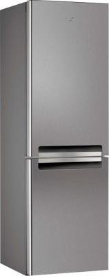 Холодильник с морозильником Whirlpool WBV 3327 NF IX - общий вид