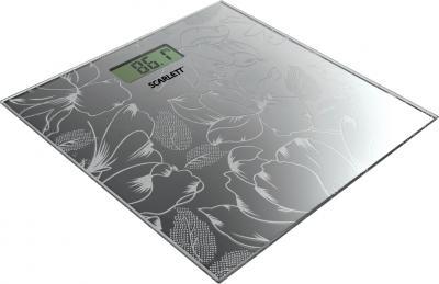 Напольные весы электронные Scarlett SC-215 (графит) - общий вид