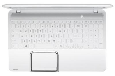 Ноутбук Toshiba Satellite L870D-D3W (PSKFSR-001001RU) - клавиатура
