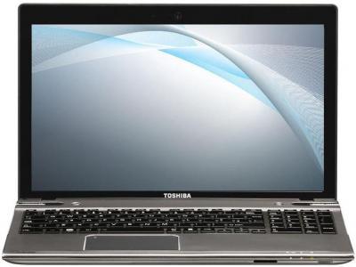 Ноутбук Toshiba Satellite P855-DVS (PSPKFR-02Q005RU) - фронтальный вид