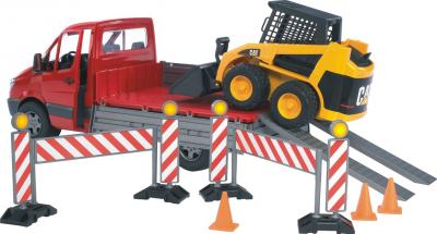 Функциональная игрушка Bruder Грузовик Mercedes Benz Sprinter 1:16 (02922) - общий вид