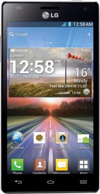 Смартфон LG P880 (Optimus 4X HD) Black - общий вид