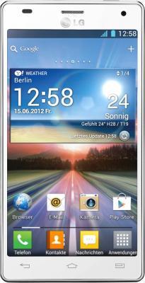 Смартфон LG  P880 (Optimus 4X HD) White - общий вид
