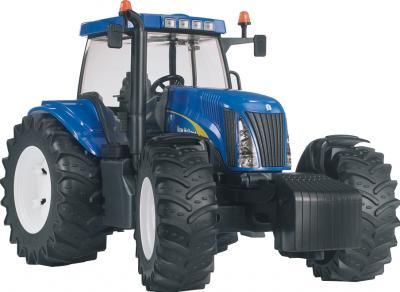Функциональная игрушка Bruder Трактор New Holland 1:16 (03020) - общий вид