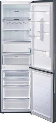 Холодильник с морозильником Samsung RL63GCBMG - общий вид
