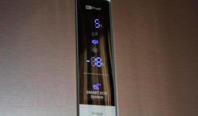 Холодильник с морозильником Samsung RL63GCBMG