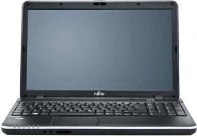 Ноутбук Fujitsu LIFEBOOK AH512 - фронтальный вид
