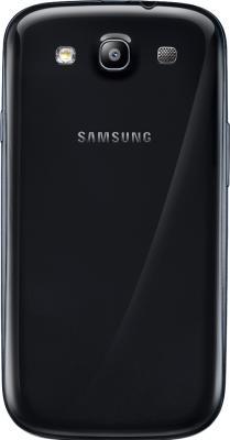 Смартфон Samsung Galaxy S3 / I9300 (черный) - задняя панель