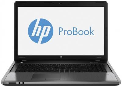 Ноутбук HP ProBook 4740s (B7A61EA) - фронтальный вид