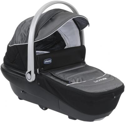 Детская универсальная коляска Chicco S3 Black Auto-Fix (Tecna) - люлька
