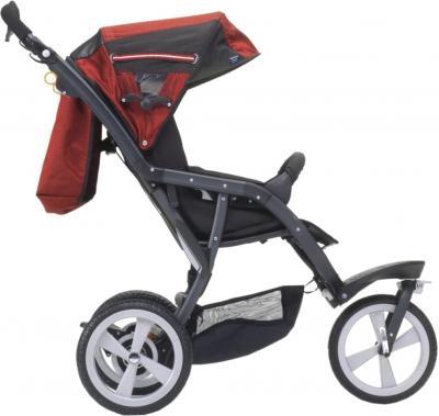 Детская универсальная коляска Chicco S3 Black Auto-Fix (Andromeda) - вид сбоку