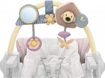 Стульчик для кормления Chicco Polly Magiс Delicacy - дуга с игрушками