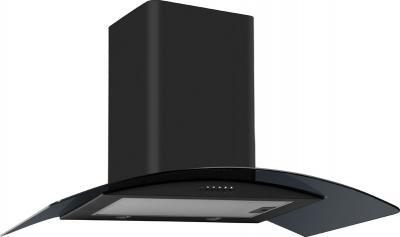Вытяжка купольная Backer QD60A-G6L120 (60, черный/черное стекло) - общий вид