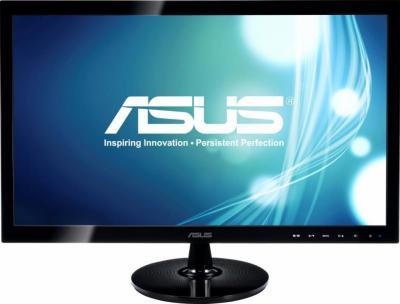 Монитор Asus VS228H - вид спереди
