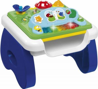 Развивающая игрушка Chicco Столик игровой музыкальный (Shapes and Music Table) - общий вид