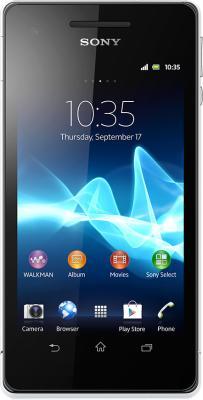 Смартфон Sony Xperia J (ST26i) White - общий вид