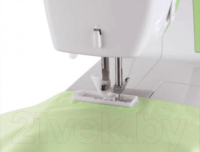 Швейная машина Singer 3229 - выметывание петли