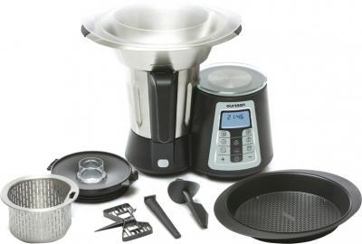 Кухонный комбайн Oursson KP0600HSD/BS - общий вид
