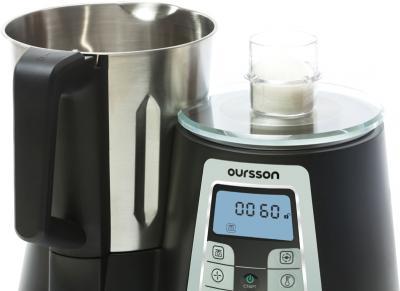 Кухонный комбайн Oursson KP0600HSD/BS - встроенные весы