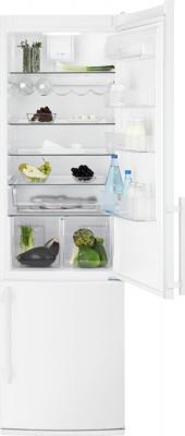 Холодильник с морозильником Electrolux EN3850AOW - общий вид