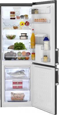 Холодильник с морозильником Beko CS134021DP - общий вид