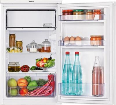 Холодильник с морозильником Beko TS190320 - внутренний вид