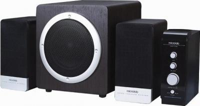 Мультимедиа акустика Microlab H 220 (черный) - общий вид