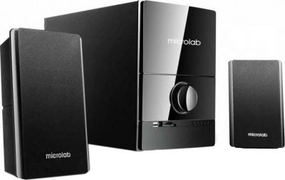 Мультимедиа акустика Microlab M 500U (черный) - общий вид