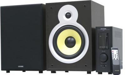 Мультимедиа акустика Microlab Pro 3 (темное дерево) - общий вид