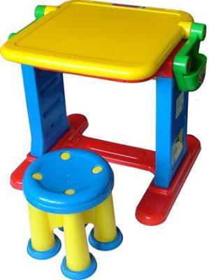 Парта-мольберт+стул Полесье Моя первая студия / 1014 - в сложенном виде