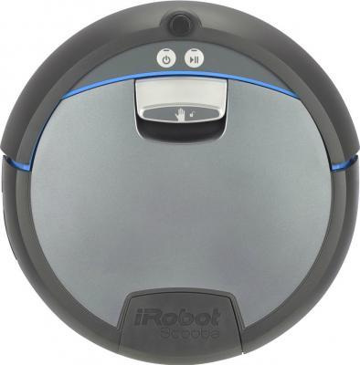 Робот-пылесос iRobot Scooba 390 - вид спереди