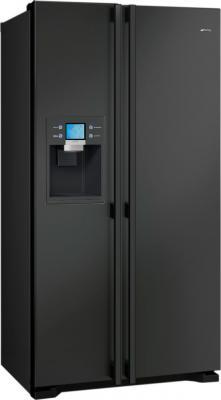 Холодильник с морозильником Smeg SS55PNL3 - общий вид