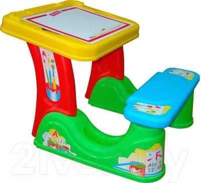 Парта-мольберт+стул Полесье Набор дошкольника с принадлежностями / 36667 - товар по цвету не маркируется