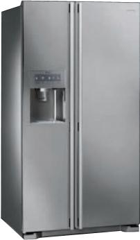 Холодильник с морозильником Smeg SS55PTE3 - общий вид