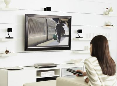 Домашний кинотеатр Bose Lifestyle T10 Home Entertainment System Black - в интерьере