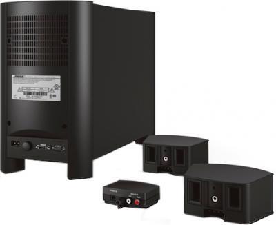 Домашний кинотеатр Bose CineMate Home Theather System Black - вид сзади