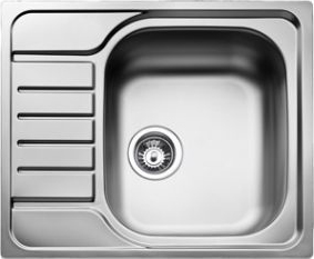 Мойка кухонная Teka E50 1C 580.500 (микротекстура) - общий вид