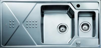 Мойка кухонная Teka Expression 60 B-CN (полированная) - вид сверху