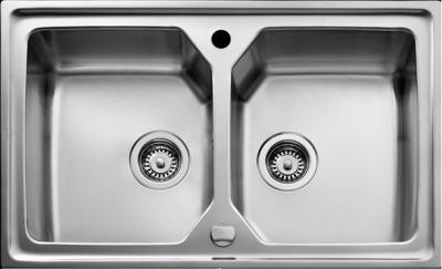 Мойка кухонная Teka Expression 80 B-MTX (микротекстура) - вполоборота